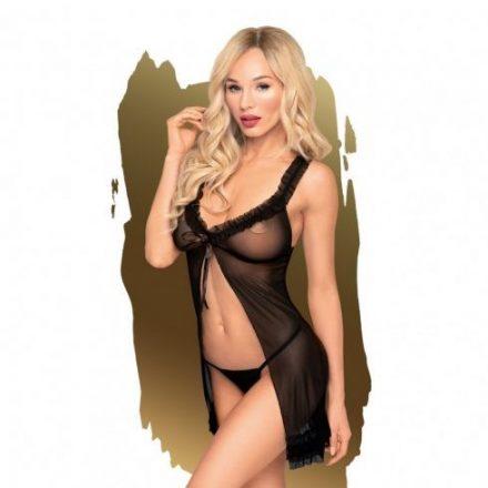 Naplemente-utan-fekete-szexi-atlatszo-ruha-M/L