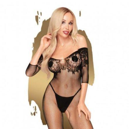 Fekete-atlatszo-csipkes-szexi-ruha-XL