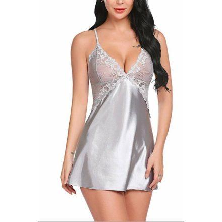 Szürke szexi háló ruha M